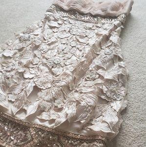 Sue Wong Champagne Dress